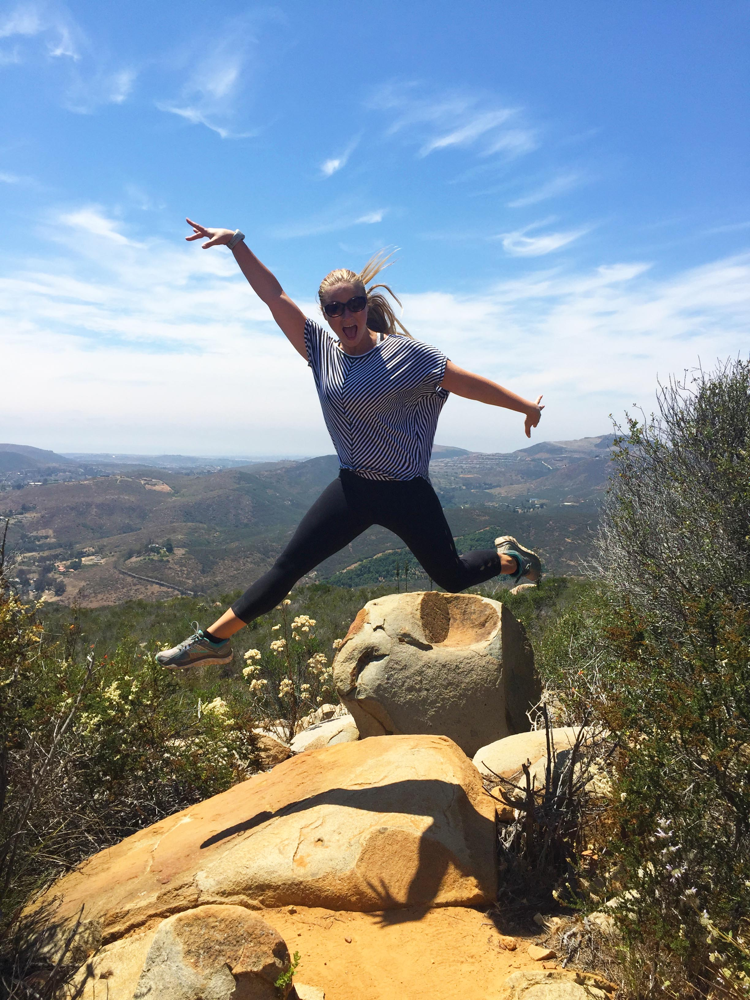 Jumping at Elfin Forest