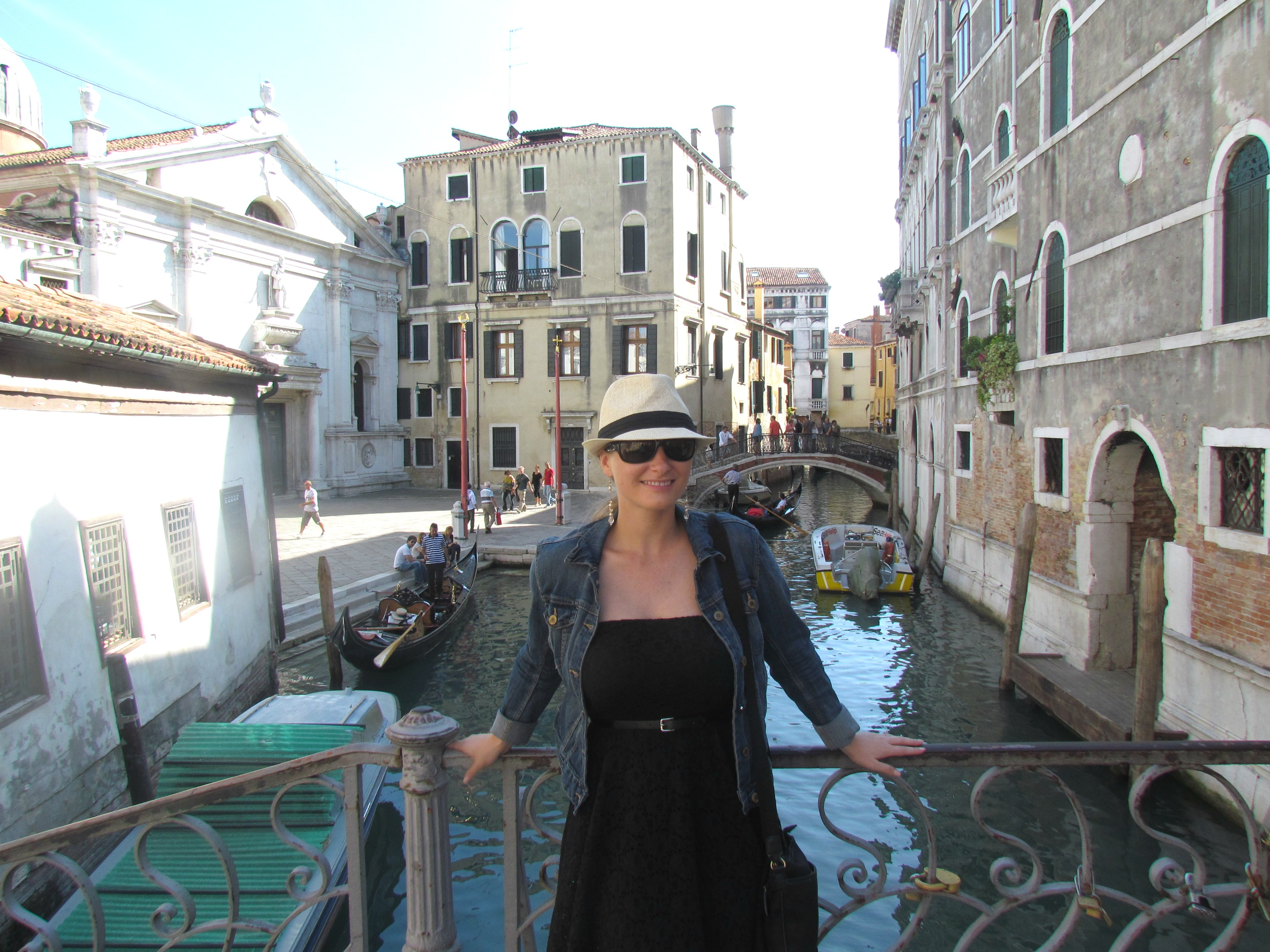 A photo while in Venice, the last time I was in Europe