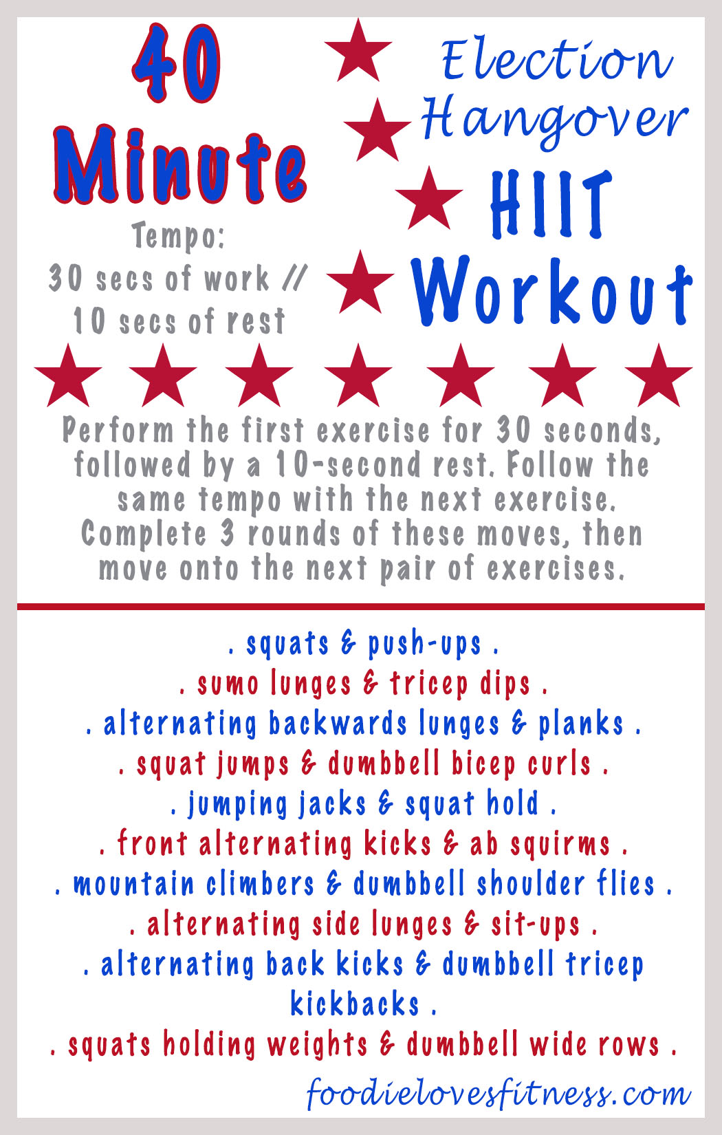 election-hangover-hiit-workout