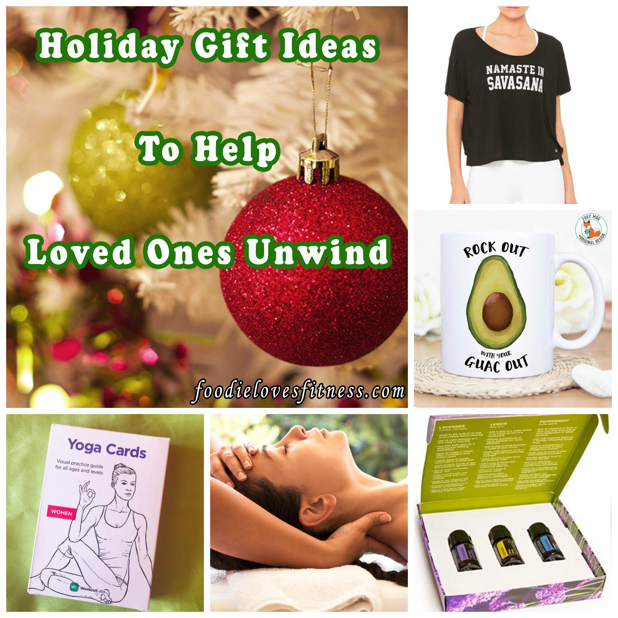 Holiday Gift Ideas to Help Loved Ones Unwind • Foodie ...