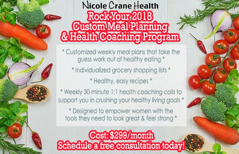 My Custom Meal Planning  Health Coaching Program  Foodie Loves Fitness