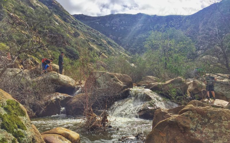 Three Sisters Waterfall Hike + An Afternoon of Wine in Temecula {Weekend Recap}