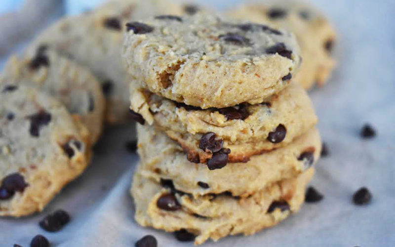 Chocolate Chip Butterscotch Cookies {vegan}