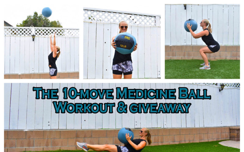 The 10-Move Medicine Ball Workout + Giveaway! {closed}