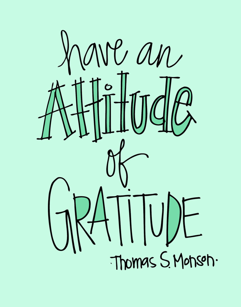 An Attitude of Gratitude: Little Things that are Making Me ...